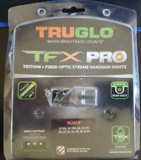 TruGlo TFX PRO Tritium Night Sights Glock 17/19/22/23/24/26/27/33/34/35/38/45