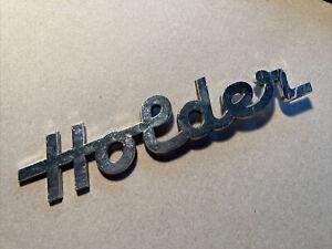 "Original Emblem Typenschild Schriftzug ""Holder"" aus Alu glänzend Traktor"