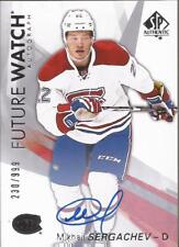 MIKHAIL SERGACHEV 2016-17 SP Authentic Future Watch Autograph Rookie #230/999