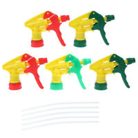10x Universal Trigger Sprayer for Pump Spray Bottle Replacement Plastic Nozzle ❤