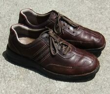 Clarks Brown Leather Casual LaceUp Shoes Men's Size 12M (Fast Shipping) EUC