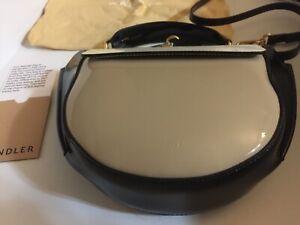 Wandler NEW Hortensia Lacquer Colorblock Crossbody Mini Shoulder Bag