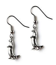 Otter Earrings - Weddings Accessories - Bridal Jewelry - Handmade - Gift Box