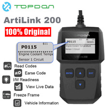 Topdon OBD II Universal Automotive Engine Fault Code Reader Diagnostic Scan Tool