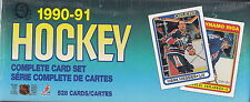 1990-91 O-Pee-Chee HOCKEY Factory Sealed SET - 528 CARDS CURTIS JOSEPH RC