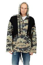 New True Religion Brand Jeans Men's Geo Camo Anorak Hoodie 100258 $269 Sz:XS M L