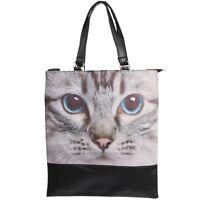 Katzenmotiv Handtasche Shopper Einkaufstasche Katze Cat Bag