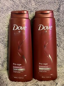 Dove Nutritive Solutions Pro-age Shampoo 13.52 oz., Lot Of 2