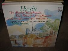 MARRINER / HAYDN paris symphonies ( classical ) 3 lp box philips