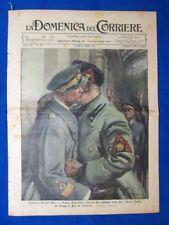La Domenica del Corriere 6 marzo 1938 Bruno Mussolini - Louisiana - In trincea