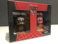 "DISNEY Vinylmation 3"" Park Set 1 Pixar Cars Lightning McQueen and Tow Mater"
