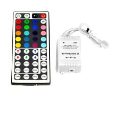 5M 10M 15M 20M 3528 RGB LED Strip Light+44 Key Remote Controller+12V Power Kit