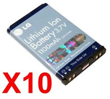 Lot Of 10 Lg Lgip-A1100E Oem Battery Vx8300 Vx8100 Vx6100 Vx3400 Vx3300 Vx5200