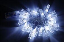 DEL Guirlande Électrique Avec 40 Photo-clips Fonctionnement sur batterie fotolichterkette avec Parenthèses