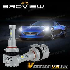 BroView 9005 HB3 12000LM Headlight High Beam 72W Cree High Power White LED Bulb