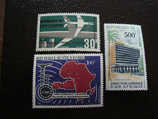 COTE D IVOIRE - timbre - yvert et tellier aerien n° 36 a 38 n** (A7) stamp