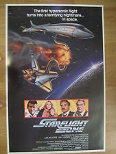 """  STARFLIGHT ONE ""  1982  movie poster  with  Lee Majors"