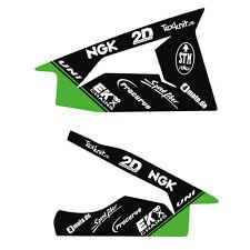 Schwingenaufkleber passgenau für Kawasaki ZX 10 R  ab 2011