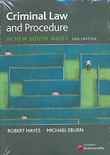 Criminal Law and Procedure in NSW by Eburn, Hayes (Paperback, 2006)