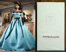 """Ball Gown Barbie Collector Doll Mattel Silkstone Gold Label AA African American"""""""
