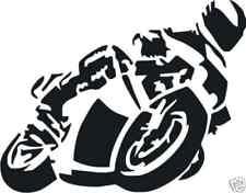 Motorrad  Aufkleber Autoaufkleber Sticker in Wunschfarbe   m345