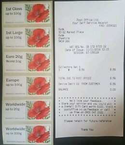 NCR POPPY 'R17YAL' -  COLLECTOR STRIP - Bought 11/11/19