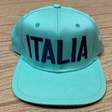 Puma Italia FIGC Italy Soccer Football Snapback Hat