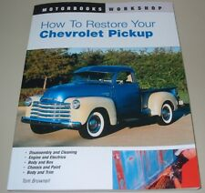 Restaurierungsanleitung Chevrolet Pickup Workshop Manual Repair + Restore!