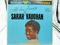 SARAH VAUGHAN All Time Favorites SRW 16123 LP Vinyl VG+ Cover VG