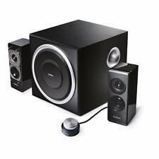 Soundsystem EDIFIER S330D 2.1 Lautsprechersystem Schwarz Lautsprecher Musianlage