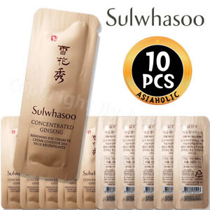 Sulwhasoo Concentrated Ginseng Renewing Eye Cream EX 1ml x 10pcs (10ml) Newist