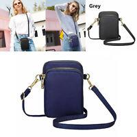 Women's Mini Cross-body Cell Phone Shoulder Bag Pouch Case Belt Handbag Purse