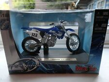 maisto Yamaha YZ-400F model diecast boxed Special Edition scale 1:18