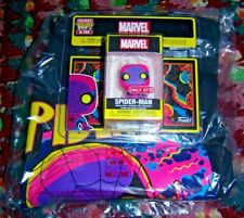 Funko Pocket POP! and Tee Marvel Blacklight Spider-Man L (Target Exclusive)
