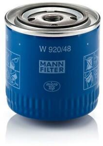 Mann-filter Oil Filter W920/48 fits NISSAN NAVARA D40 2.5 dCi 2.5 dCi 4WD