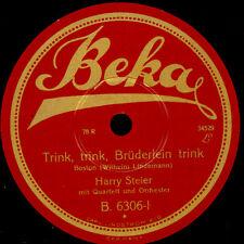 HARRY STEIER  Trink, trink, Brüderlein trink / Der Wirt vom Heidekrug      S6214