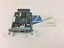 Cisco WIC-1DSU-T1-V2 1-Port DSU/CSU 1-PORT WAN INTERFACE CARD