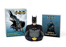 Batman: Talking Bust and Illustrated Book (Running Press Mini Kit & Book) by Mat