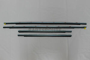 Lexus IS250 IS350 IS-F OEM Genuine Front Rear Window Door Belt Molding SET 06-14
