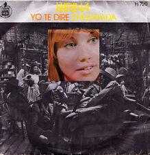 "KARINA- YO TE DIRE + ENGAÑADA SINGLE 7"" VINYL SPAIN 1971 GOOD CONDITION"