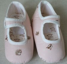 HERMES SALE PINK PRE-WALKER SHOES SZ 18 6-9 MONTHS