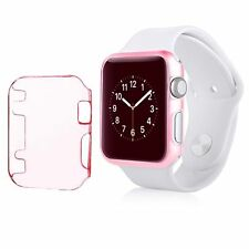 For Apple Watch Series 1 38MM Sport Edition Slim Snap On Hard Case Pink