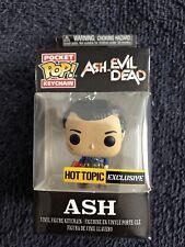 New Funko Pop! Ash vs. Evil Dead Ash Key Chain Hot Topic Exclusive