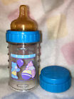Vintage Playtex Nurser Baby Bottle Adorable!! With First Silicone Nipple!! RARE
