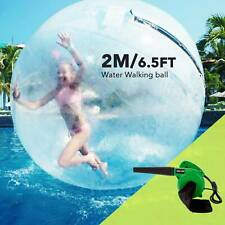 2M Water Walking Ball Inflatable PVC Ball FREE Blower Zorb Ball w/ Zipper