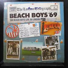 The Beach Boys Live In London '69 LP VG+ ST-511584 Vinyl Brian Wilson Signed