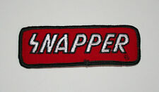 Vintage Snapper Tractor Lawn Mower Farm Equipment Cloth Jacket Patch New NOS