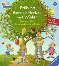 Frühling Sommer Herbst und Winter Mein großes Jahreszeiten-Spielbuch►►►ungelesen