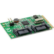 InLine 66901 Mini-pcie Karte 2x SATA 6gb/s