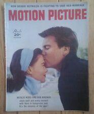 MOTION PICTURE MAGAZINE DECEMBER 1957 NATALIE WOOD BOB WAGNER